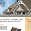 Website copywriting for Bay Area roofing company