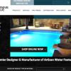 Website copywriting for high-end fountain company